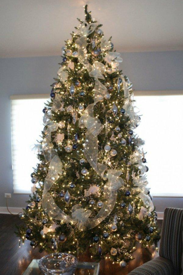 украшение елки к новому 2021 году