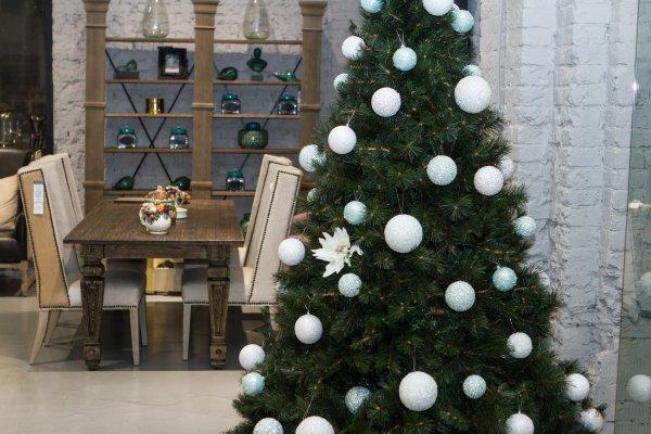 минимализм стиль украшения елки