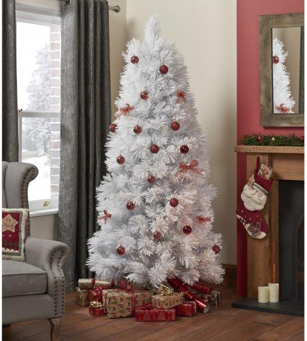 минимализм в украшении елки